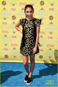 Rowan Blanchard at the Teen Choice Awards 2015