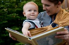 carolee and emerson: babywearing EXPLORATION