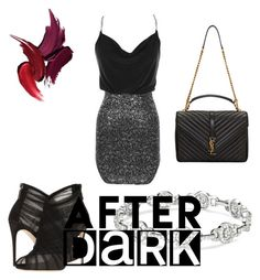 """""""After dark"""" by sblabla ❤ liked on Polyvore featuring Dolce&Gabbana and Yves Saint Laurent"""