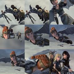 From season 5..>>> I have no idea who these chicks are, or why they're flying, but I don't trust them.