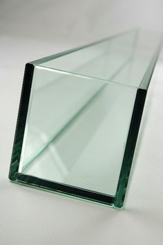 """Perfect for candles and fillers for any occasion! -- 47"""" Rectangular Glass Vase"""