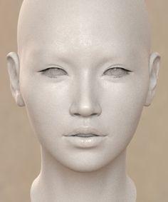 옷은 한복으로 결정 . 촌스런 머리와 깔끔 또는 화려 한복으로 디스맵 테스트중 + 얼굴 형태 수정 뒤. 기본...