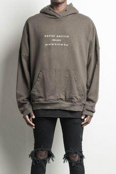 heavy hoodie NY / army designer streetwear heavyweight hoodie