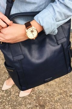 Tom(girl) is the new tomboy. Essentials include the Townsman Automatic and Emerson Satchel.