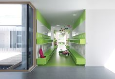 Image 4 of 18 from gallery of Kinderhouse Arche Noah / Liebel Architekten BDA. Photograph by Michael Schnell