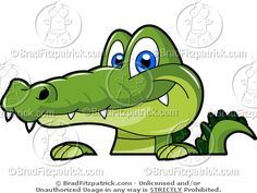 Free Alligator Clip Art | ... /Carson Dellosa Letters and Numbers ...