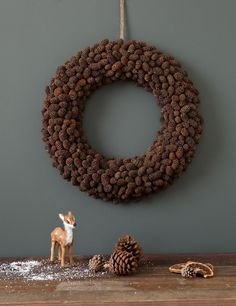 Spruce Cone Wreath