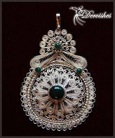 #filigree #handmade #silver #jewelry