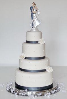 bruidstaart zilver