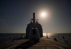 USS Vella Gulf Enters the Black Sea   Naval Today
