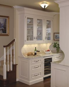 Have you considered adding a butler's pantry to your home? You'll love these 10 unique ideas for adding a functional service space to your dining area.