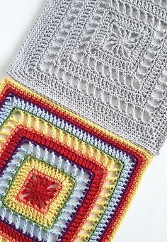 [Free Pattern] Enjoy The Meditative Nature Of Working Up This Beautiful Square