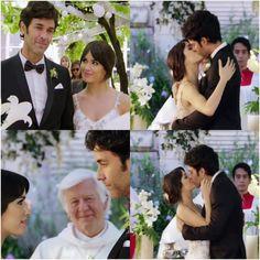 """""""Y ahora los declaro marido y mujer, pueden besarse"""" cap 166 Mariano Martinez, It Cast, Husband Wife, Life, Women"""