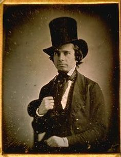 Image result for man in top hat daguerreotype
