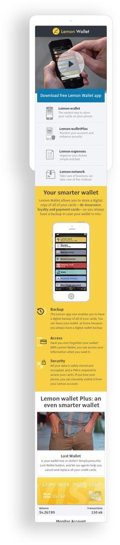 Lemon Wallet Mobile. By Aerolab