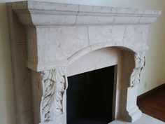 Buy Artisan Kraft Marble Fireplaces, choice in the US online. Fireplace Mantel Surrounds, Stone Fireplace Mantel, Stone Fireplaces, Fireplace Ideas, Mantle, Tuscan Design, Traditional Design, Home Living Room, Great Rooms