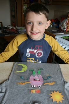Creating a My Monster t-shirt – review and giveaway