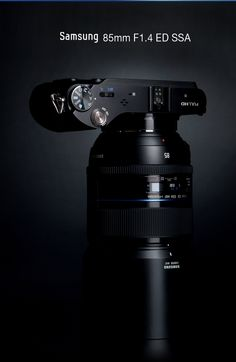 Samsung NX 85mm F1.4 ED SSA - I want it... Samsung Camera, Lens, Social Media, Technology, Marketing, Photo And Video, Photography, Products, Tools