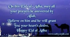 Eid al Adha Greetings, Wishes and Eid ul Adha Mubarak | Cathy