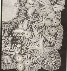 Handmade Limerick needle lace