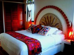 Tulum house rental - Mexican Textiles and Art - Mexican Bed & Breakfast Near Tulum