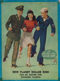 New Planet Roller Rink - Chicago, Illinois by The Pie Shops, via Flickr