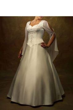 vintage plus size wedding dresses