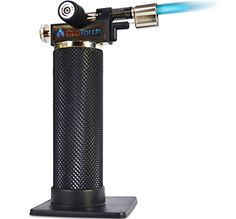 Micro Butane Torch: Tough Self-ignition 2Yr GUARANTEE! Soldering Kitchen Jewelry-Making by ProTorch ProTorch http://www.amazon.com/dp/B00Z2DAOQU/ref=cm_sw_r_pi_dp_DGs0vb101MBQ9