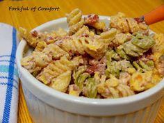 Forkful of Comfort: Bacon Ranch Pasta Salad