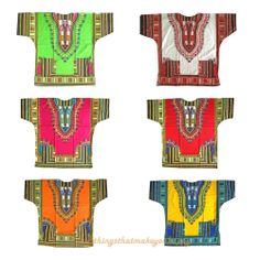 African Shirt Dress men women Dashiki print Hippie Style Caftan Unisex Tribal