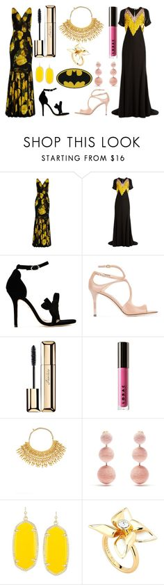 """Fashion week"" by camry-brynn ❤ liked on Polyvore featuring Dolce&Gabbana, Altuzarra, Isa Tapia, Jimmy Choo, Guerlain, LORAC, Aurélie Bidermann, Rebecca de Ravenel, Kendra Scott and Ted Baker"