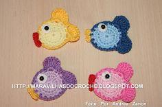http://maravilhasdocroche.blogspot.com/2012/07/peixinhos-coloridos-para-aplique-e.html