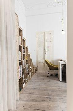 3A (Cabinet d'Architecture Polonaise) - Spacious 300 Square Foot Half Loft Home