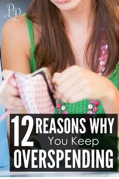 Trying to create a budget and get out of debt but you keep overspending? Find out the reasons WHY! #1 is the most COMMON reason!!!