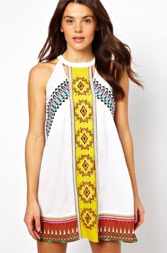 6 Mexican-Inspired Pieces for Cinco de Mayo: River Island Misha Mexican Dress from ASOS.