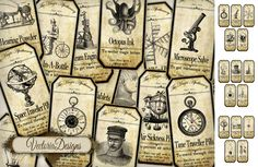 Printable+Steampunk+Apothecary+Labels+by+VectoriaDesigns.deviantart.com+on+@deviantART