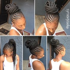 STYLIST FEATURE| Love these #cornrows done by #DallasBraider @probraids❤️ So…