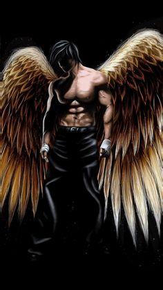 Lassiter The Fallen Angel Foto Fantasy, Dark Fantasy Art, Fantasy Artwork, Dark Art, Fantasy Men, Male Fallen Angel, Male Angels, Angels And Demons, Angel Artwork