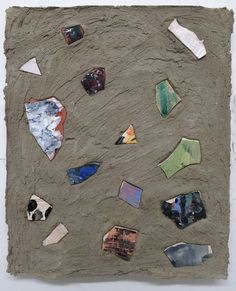 Nicholas Pilato, Glazed ceramic shards in matte concrete Crystal Shapes, Glazed Ceramic, Magazine Art, Color Photography, Image Collection, Urban Art, Art World, Designs To Draw, Design Art