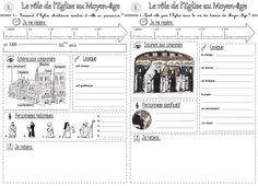 L'Eglise au Moyen Age : traces écrites