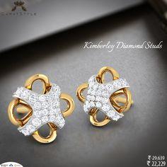 It wasn't love at first sight. It took a full five minutes. #diamond #stud #earring