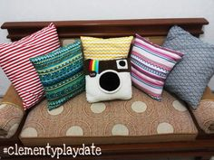 Do what you love! #red #tosca #yellow #pink #tribal #blackandwhite #pillow #cover #chair #handmade #clementyplaydate