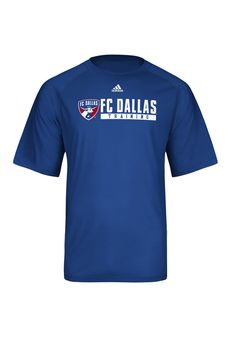 9af4f703080 FC Dallas Men s Adidas Royal Training Shirt http   www.rallyhouse.com