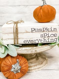 Pumpkin Books, Farmhouse Books, Fallen Book, Harvest Decorations, Stack Of Books, Beaded Garland, Jute Twine, Shabby Chic Style, Fall Home Decor