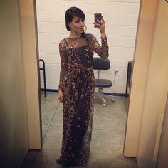 Simplesmente apaixonada por esse vestido! Dica: é da Antix Store. (Reprodução/Instagram)