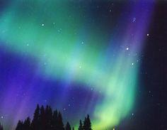 Las auroras boreales. El rincón de la Ciencia