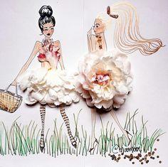 Flowers fashion