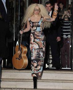 Lady Gaga street 2012