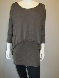 Lagenlook top 1713 brown Tunic Tops, Brown, Women, Fashion, Moda, Women's, Fashion Styles, Brown Colors, Woman
