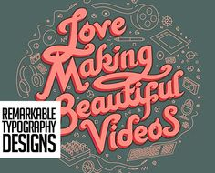 15 Remarkable Lettering and Typography Designs for Inspiration